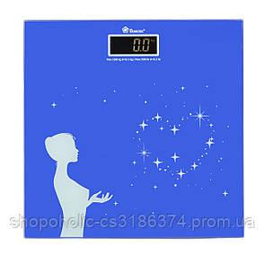 Весы напольные стеклянные (квадратные) на 180 кг Спартак 1604