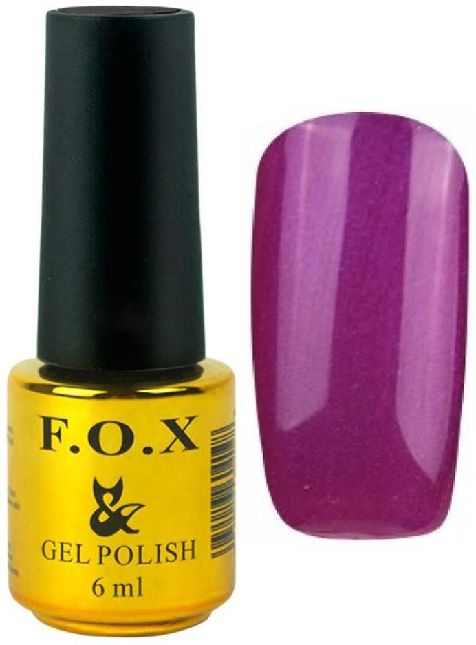 Гель-лак для ногтей FOX №214 Фиолетовый 6 мл