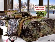 Полуторный набор постельного белья - Пантеры в джунглях