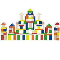 Развивающий Набор Деревянных Строительных Блоков Для Детей Viga Toys 100 шт., 2,5 см (RLX 124)