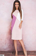Красивое платье женское демисезонное 42-58 размеров, 2 цвета