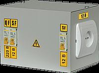 Ящик с понижающим трансформатором ЯТП-0,25 220/24-2 36 УХЛ4 IP30 IEK