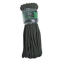 Верёвка 5мм 15м тёмно-зелёная MFH 27503A