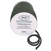 Верёвка 7мм 60м тёмно-зелёная MFH 27505B