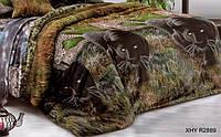 Двуспальный пододеяльник из ранфорса - Пантеры в джунглях