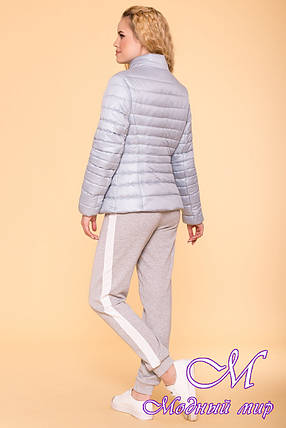 Женская стильная демисезонная куртка (р. S, M, L) арт. Лоррейн 6778 - 41903, фото 2