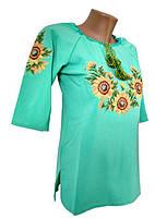 Женские вышитые блузы и рубашки