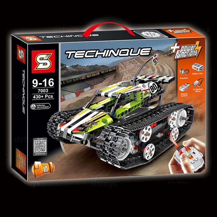 """Конструктор SY 7003 """"Скоростной вездеход"""" 430 деталей. Аналог Lego Technic 42065"""