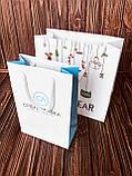 Бумажные крафт пакеты с крученой ручкой, фото 5