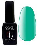 """Гель-лак для ногтей Kodi Professional """"Aquamarine"""" №AQ020 Морской зеленый (эмаль) 8 мл"""