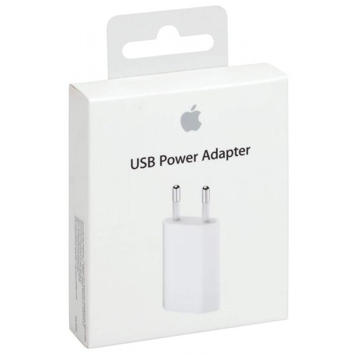 Зарядное устройство USB Power Adapter 5W (MD813) with box