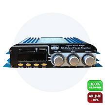 Усилитель звука в машину Teli MA-500 USB + MP3 4*55W (4х канальный в авто)