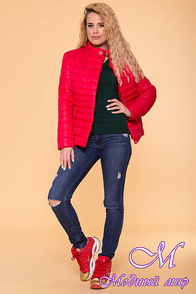 Стильная женская осенняя куртка (р. S, M, L) арт. Лоррейн 6778 - 41904, фото 2