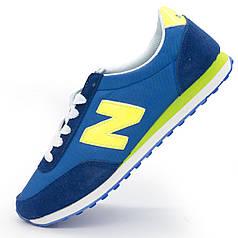 Мужские кроссовки New Balance 410 синие - Реплика р.(43)