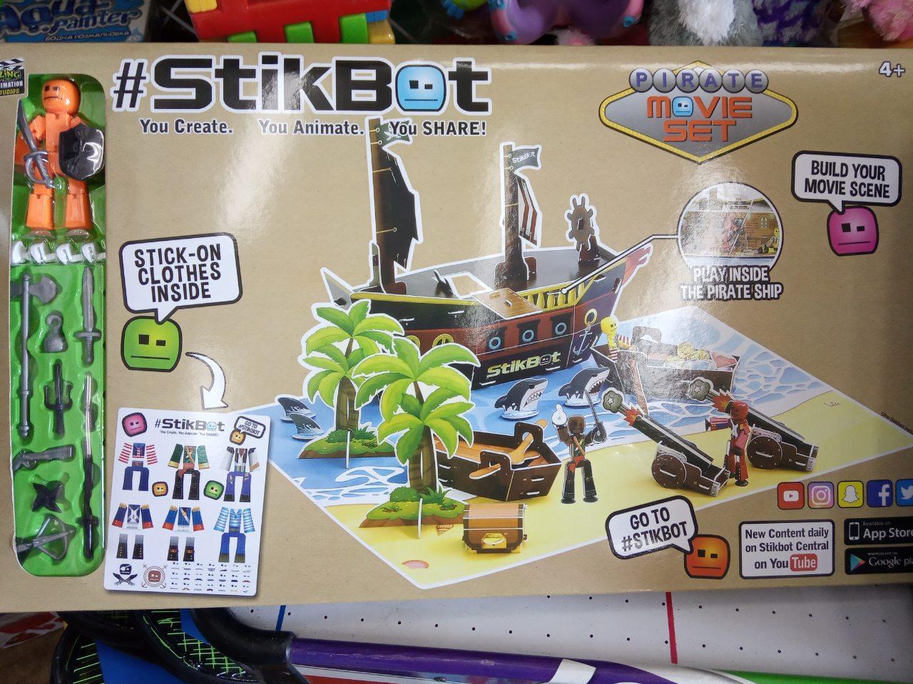 STIKBOT StikBot Остров сокровищ / пираты PIRATE Movie
