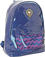 Рюкзак молодежный Оксфорд (Oxford) сине-фиолетовый 552364/ ХО89