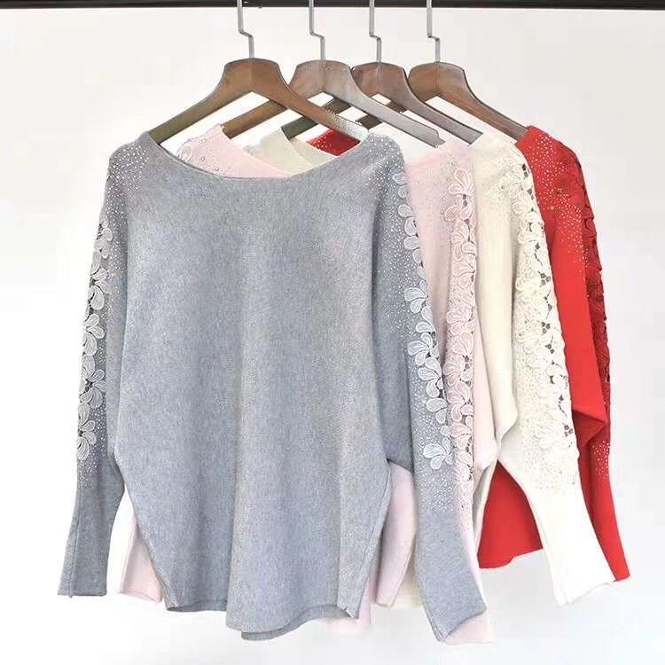 Стильный батальный свитер 50-54 (в расцветках)