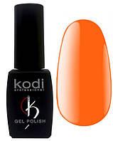 """Гель-лак для ногтей Kodi Professional """"Bright"""" №BR050 Неоновый оранжевый (эмаль) 8 мл"""
