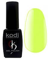 """Гель-лак для ногтей Kodi Professional """"Bright"""" №BR110 Неоновый лимонно-желтый (эмаль) 8 мл"""
