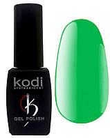 """Гель-лак для ногтей Kodi Professional """"Bright"""" №BR130 Неоновый киви (эмаль) 8 мл"""