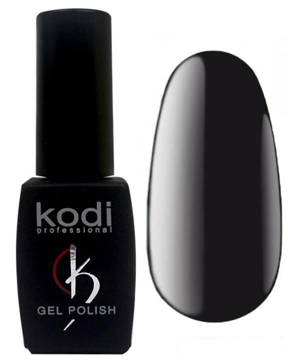 """Гель-лак для ногтей Kodi Professional """"Black&White"""" №BW100 Черный (эмаль) 8 мл"""
