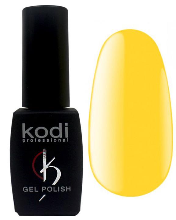 "Гель-лак для ногтей Kodi Professional ""Green & Yellow"" №GY010 Желтый (эмаль) 8 мл"