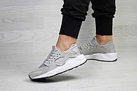Женские кроссовки Nike Huarache, серые.