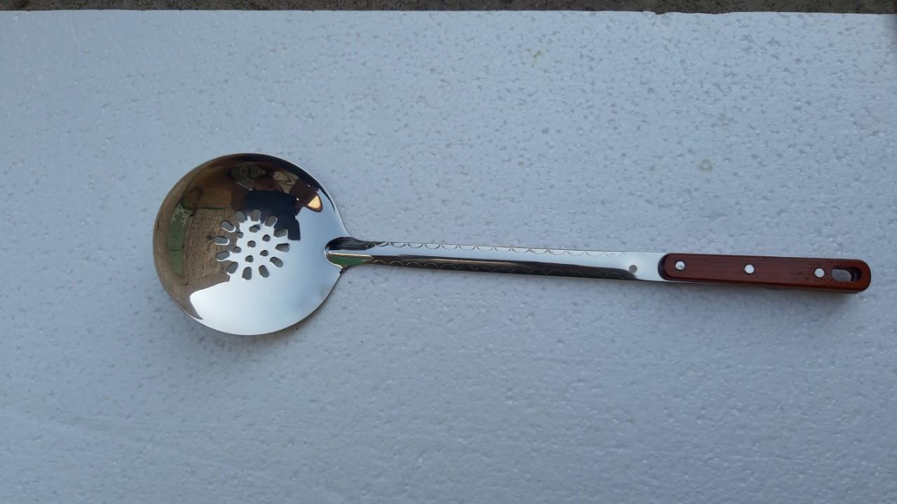Шумовка (капкир, кафгир)  470*125 мм для казанов объемом от 8 до 22 л