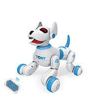 Іграшка на радіокеруванні Собака 8205BLUE, реагує на руку (Синій)