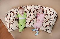 """Подушка для новорожденных """"Двойня"""""""