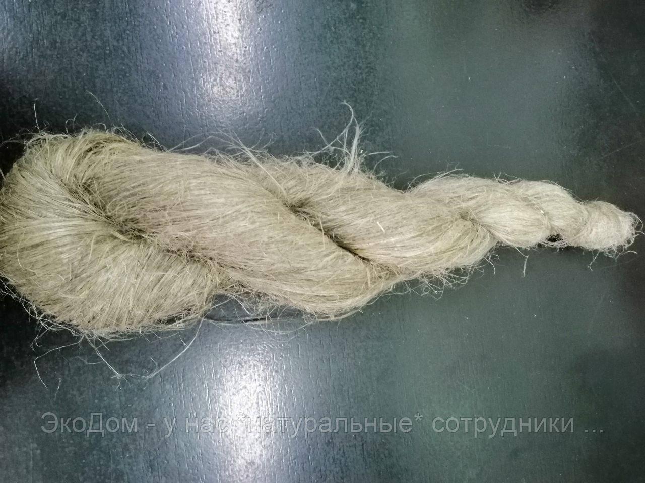 Пакля льно-пеньковая косичка