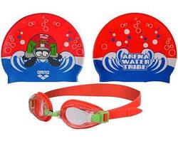 Очки+шапочка для плавания Arena AWT Multi Set