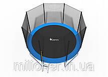 Батут FunFit 374 см с сеткой + лестница(2 места) , фото 2