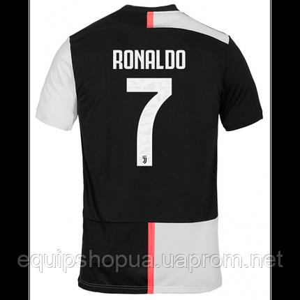 ДОМАШНЯЯ ФОРМА ФУТБОЛЬНАЯ КЛУБА «ЮВЕНТУС» Ronaldo  СЕЗОНА 2019-2020 M (на рост 170-180 см), обычное, фото 2