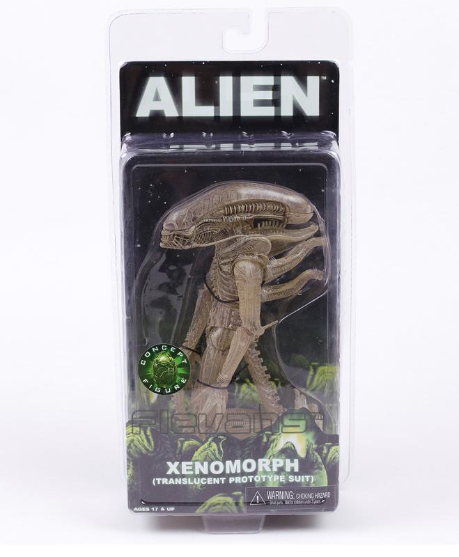 Коллекционная фигурка Чужой XENMOMRPH 20 см в фирменной упаковке NECA