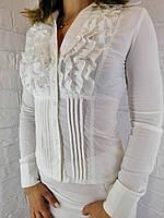 Рубашка женская белая 176