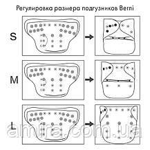 Подгузник многоразовый c вкладышем Berni, фото 2