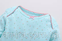 Комплект для девочки 3 в 1 Бабочка Berni (12 мес), фото 3
