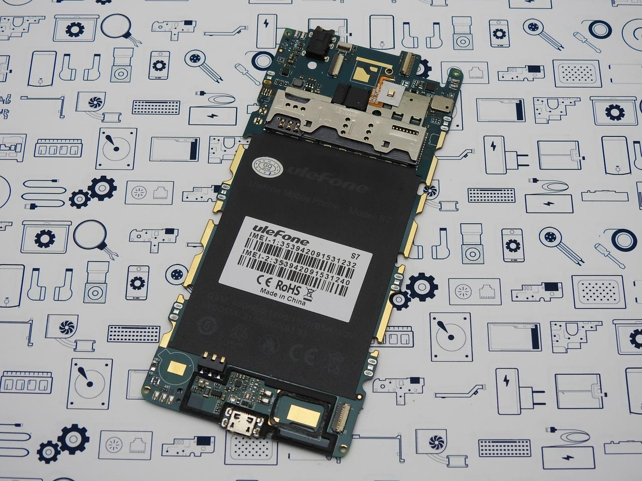Материнская плата Ulefone S7 1\8Gb оригинал с разборки (100% рабочая)