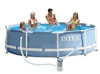 Каркасный бассейн intex 28702 сборный prism frame 305 x 76 см RK