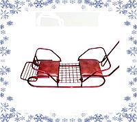 """Санки """" Двойка"""", мягкие сидения, фото 1"""