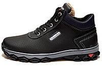 Черевики-кросівки зимові спортивні на шнурівку
