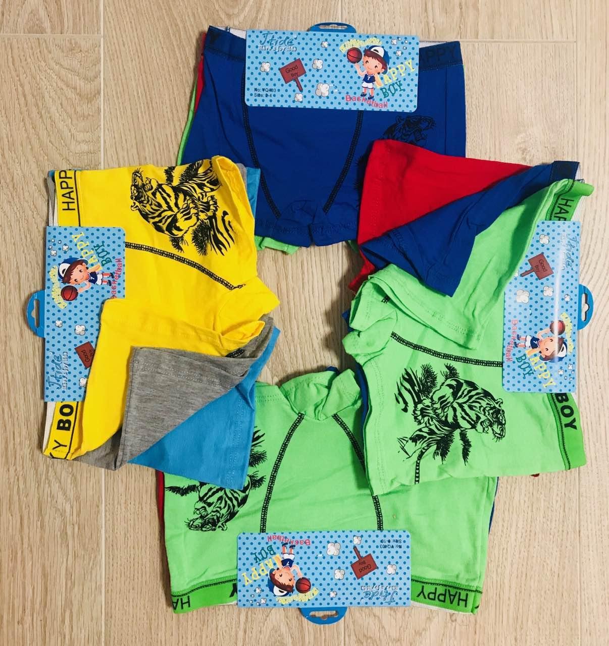 Детские трусики-боксёры шортиками на мальчика хлопок Happy Boy размер 2-10 лет РОСТОВКА