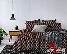 1,5-спальный комплект постельного белья ТМ TAG Полисатин PS-NZ2634