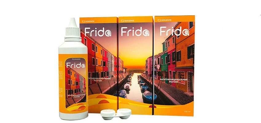 Раствор для линз Frida 360 ml Solente (Раствор для линз Фрида 360 мл)