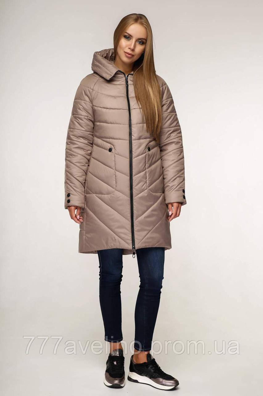 Зимняя куртка женская стильная