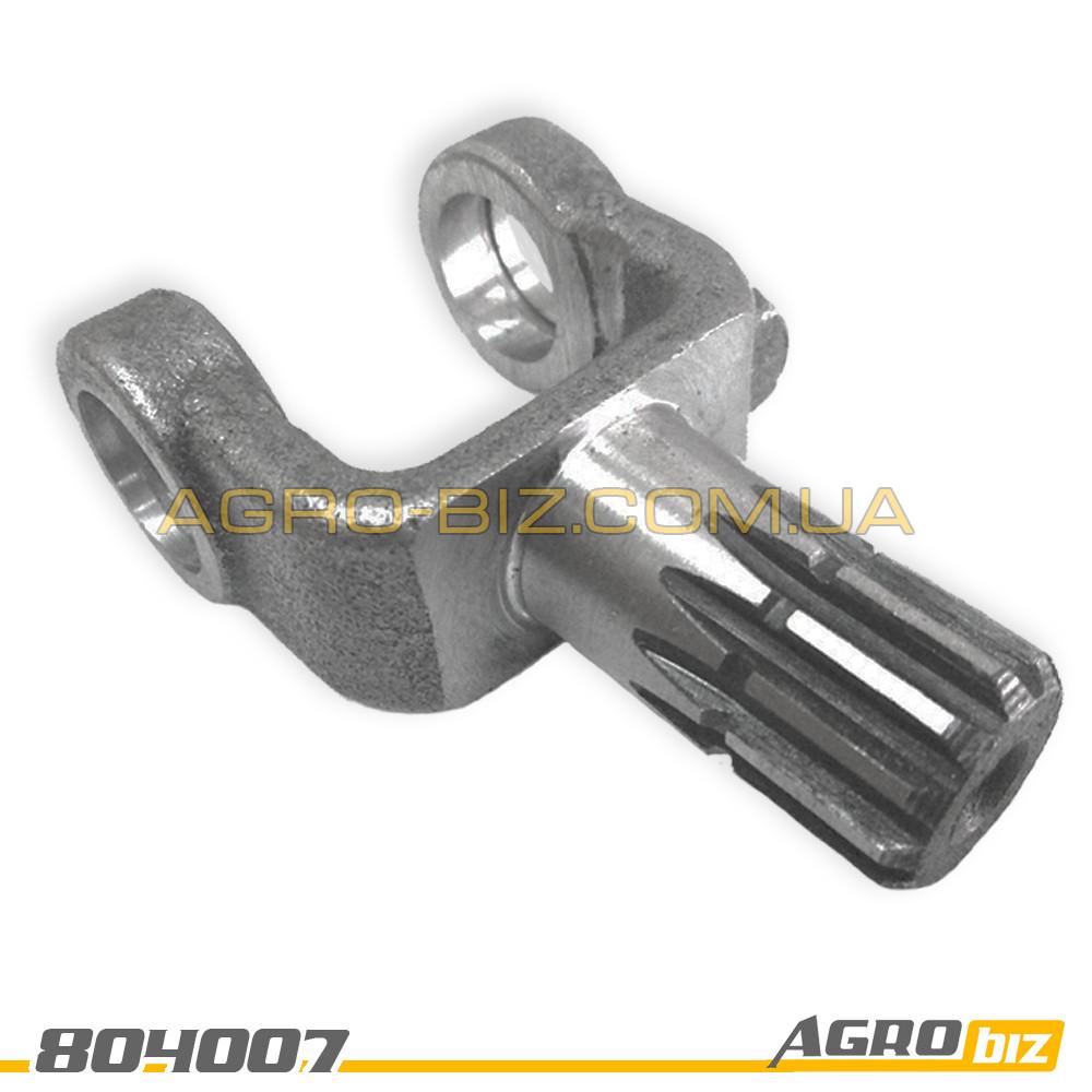 """Вилка рулевого кардана (шлиц. под дозатор) 85-3401156-В МТЗ-80-1221 """"ВЗТЗЧ"""""""