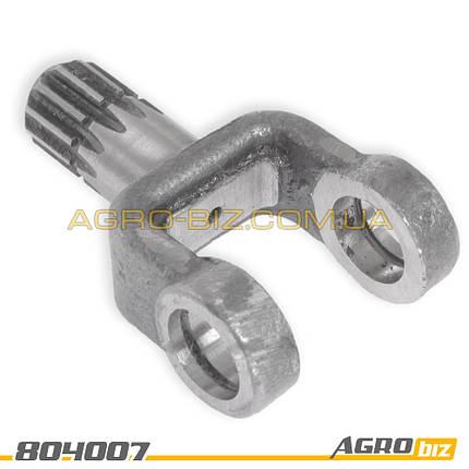 """Вилка рулевого кардана (шлиц. под дозатор) 85-3401156-В МТЗ-80-1221 """"ВЗТЗЧ"""", фото 2"""