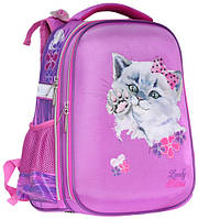Ранец CLASS Fancy Kitten 39 х 28 х 21 см 19 л для девочек Розовый (9905/8591662990508)