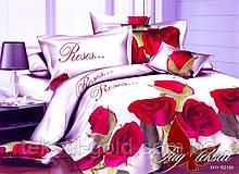 1,5-спальный комплект постельного белья 3D ТМ TAG Полисатин PS-NZ2189
